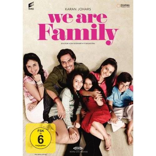 Sidharth Malhotra - We Are Family - Preis vom 25.01.2021 05:57:21 h