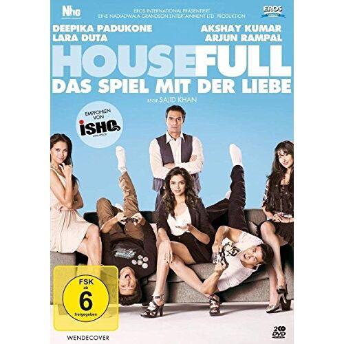 Sajid Khan - Housefull - Das Spiel mit der Liebe [2 DVDs] - Preis vom 20.10.2020 04:55:35 h
