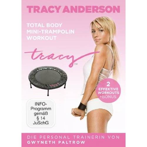 Tracy Anderson - Die Tracy Anderson Methode - Total Body Mini-Trampolin Workout - Preis vom 05.09.2020 04:49:05 h