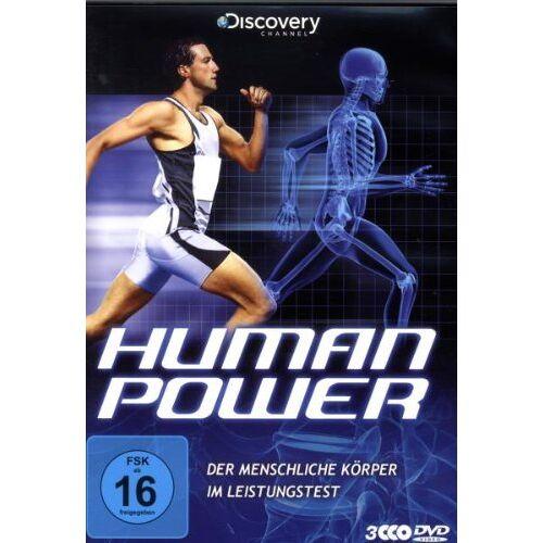 - Human Power - Der menschliche Körper im Leistungstest [3 DVDs] - Preis vom 06.09.2020 04:54:28 h
