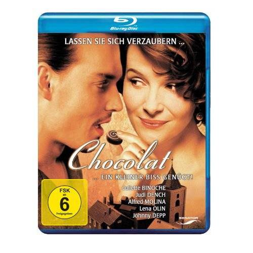 Lasse Hallström - Chocolat [Blu-ray] - Preis vom 20.10.2020 04:55:35 h