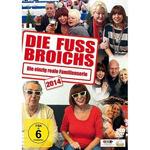 Frank Fussbroich - Die Fussbroichs 2014 - Die einzig reale Familienserie [2 DVDs] - Preis vom 06.05.2021 04:54:26 h