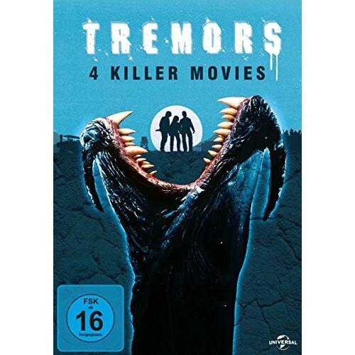 - Tremors 1-4 [4 DVDs] - Preis vom 18.04.2021 04:52:10 h