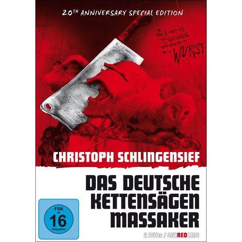 - Das deutsche Kettensägenmassaker (Red Line - 20th Anniversary Special Edition) - Preis vom 20.02.2020 05:58:33 h