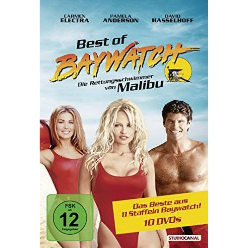David Hasselhoff - Baywatch - Best of Baywatch [10 DVDs] - Preis vom 21.04.2021 04:48:01 h