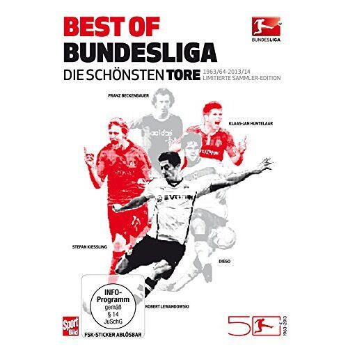 - Best of Bundesliga - Die schönsten Tore aus 50 Jahren Bundesliga (1963-2014) [6 DVDs] - Preis vom 16.04.2021 04:54:32 h