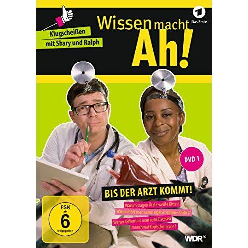 Ralph Caspers - Wissen macht Ah! DVD 1: Bis der Arzt kommt! - Preis vom 12.05.2021 04:50:50 h