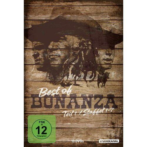 Lorne Greene - Bonanza - Best of Bonanza, Teil 1 [10 DVDs] - Preis vom 28.02.2021 06:03:40 h