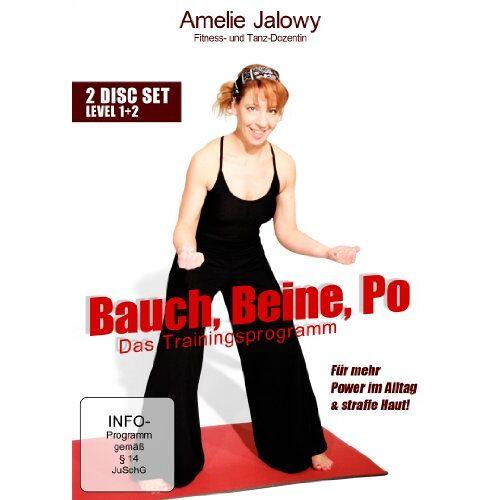 Amelie Jalowy - Bauch, Beine, Po - Das Trainingsprogramm: Teil 1+2 (2 Disc Set) - Preis vom 27.02.2021 06:04:24 h