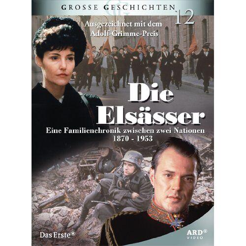 Michel Favart - Die Elsässer (4 DVDs) - Große Geschichten 12 - Preis vom 05.09.2020 04:49:05 h