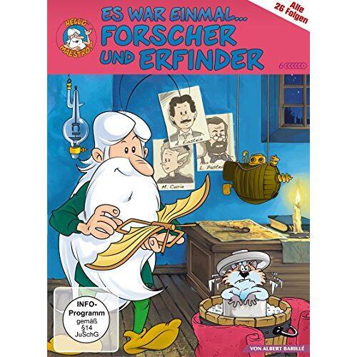 Albert Barillé - Es war einmal ... Forscher und Erfinder [6 DVDs] - Preis vom 27.02.2021 06:04:24 h