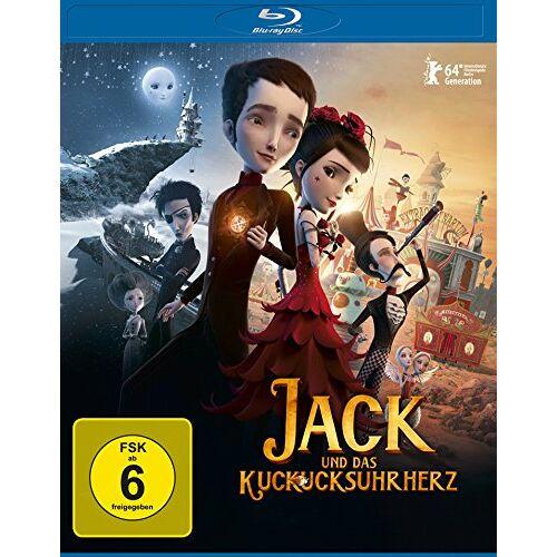 Mathias Malzieu - Jack und das Kuckucksuhrherz [Blu-ray] - Preis vom 24.02.2020 06:06:31 h