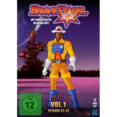 Bob Arkwright - Bravestarr, Vol. 1 (2 DVDs) - Preis vom 13.04.2021 04:49:48 h