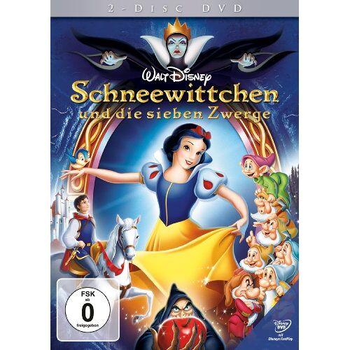 Disney Schneewittchen und die sieben Zwerge [2 DVDs] - Preis vom 17.04.2021 04:51:59 h