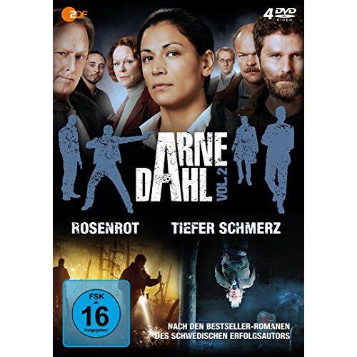Malin Arvidsson - Arne Dahl - Vol. 2 [4 DVDs] - Preis vom 15.05.2021 04:43:31 h