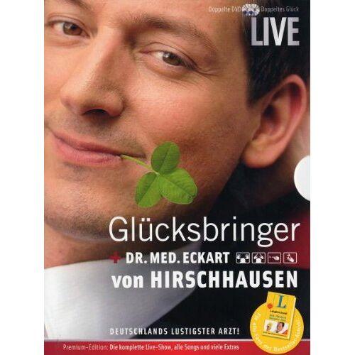 Dr. Eckart von Hirschhausen - Eckart von Hirschhausen - Glücksbringer Live (2 DVDs) - Preis vom 09.04.2021 04:50:04 h