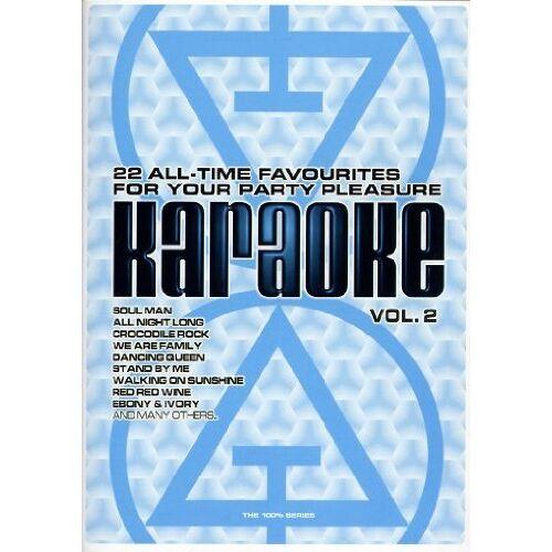 Xx - V.A. - Karaoke: 100% Karaoke Vol. 2 - Preis vom 16.05.2021 04:43:40 h