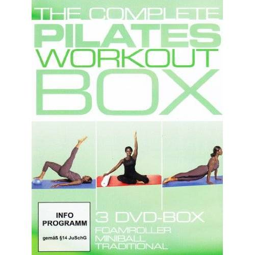 Juliana Afram - The Complete Pilates Workout Box [3 DVDs] - Preis vom 03.04.2020 04:57:06 h