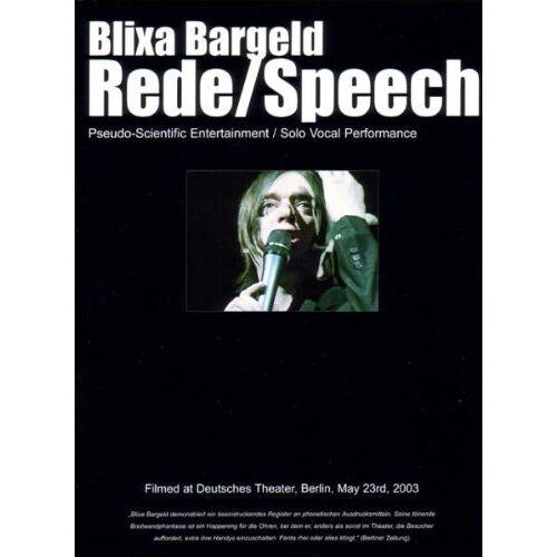 Blixa Bargeld - Blixa Bargeld: Rede / Speech - Preis vom 28.02.2021 06:03:40 h