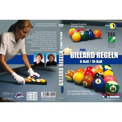 Michael Billinger - Pool Billard Regeln 8Ball / 10Ball DVD - Preis vom 12.05.2021 04:50:50 h
