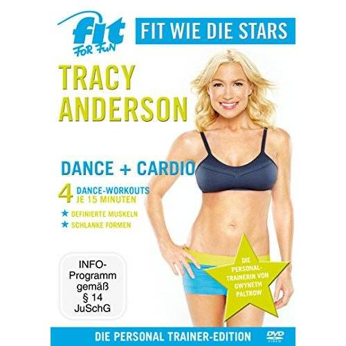 Tracy Anderson - Fit for Fun - Fit wie die Stars: Tracy Anderson - Dance+Cardio - Preis vom 07.05.2021 04:52:30 h