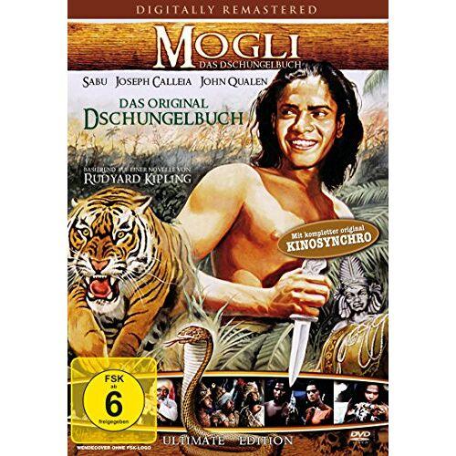 Korda Mogli - Das Dschungelbuch [DVD] - Preis vom 18.04.2021 04:52:10 h