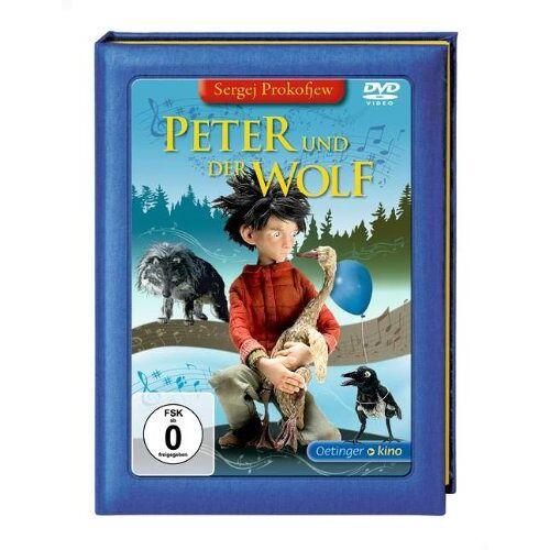 Suzie Templeton - Peter und der Wolf (DVD) - Preis vom 24.02.2021 06:00:20 h