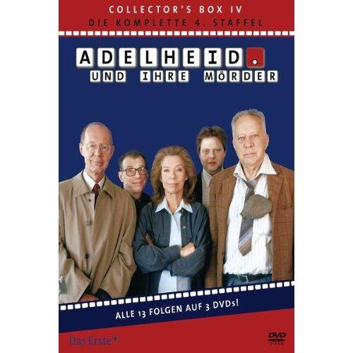 Stefan Bartmann - Adelheid und ihre Mörder - Adelheid Box 4: Die komplette 4. Staffel [3 DVDs] - Preis vom 27.02.2021 06:04:24 h