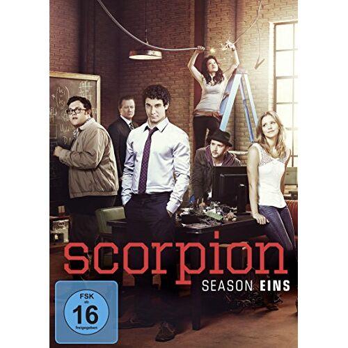Elyes Gabel - Scorpion - Season eins [6 DVDs] - Preis vom 18.04.2021 04:52:10 h