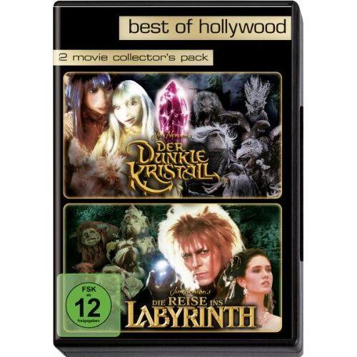 Jim Henson - Der dunkle Kristall/Die Reise ins Labyrinth - Best of Hollywood (2 DVDs) - Preis vom 13.05.2021 04:51:36 h