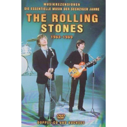 Rolling Stones - The Rolling Stones - Rolling Stones 1963-1969 (+ Buch) [2 DVDs] - Preis vom 20.10.2020 04:55:35 h