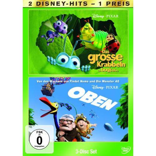 Peter Docter - Das große Krabbeln / Oben [3 DVDs] - Preis vom 10.09.2020 04:46:56 h