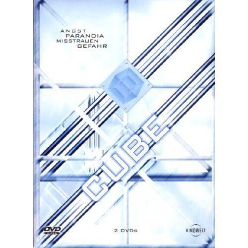 Vincenzo Natali - Cube & Cube 2: Hypercube [2 DVDs] - Preis vom 26.03.2020 05:53:05 h