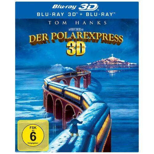 Robert Zemeckis - Der Polarexpress 3D (+ Blu-ray) [Blu-ray 3D] - Preis vom 07.05.2021 04:52:30 h