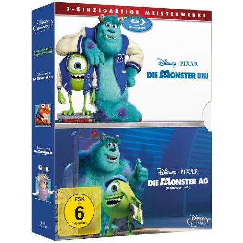 - Die Monster AG/Die Monster Uni [Blu-ray] - Preis vom 20.10.2020 04:55:35 h