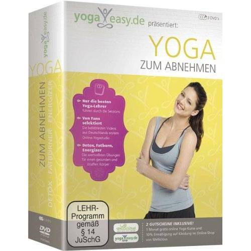 - Yoga Easy - Yoga zum Abnehmen [3 DVDs] - Preis vom 16.04.2021 04:54:32 h