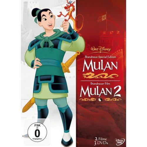 Tony Bancroft - Mulan / Mulan 2 [3 DVDs] - Preis vom 09.05.2021 04:52:39 h