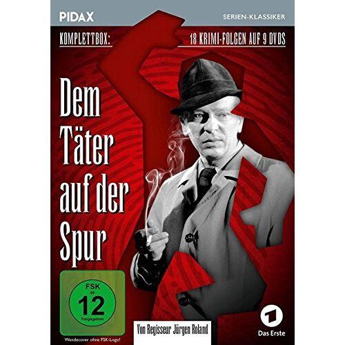 Roland Dem Täter auf der Spur / Die komplette Krimiserie von Jürgen Roland (Pidax Serien-Klassiker) [9 DVDs] - Preis vom 07.05.2021 04:52:30 h