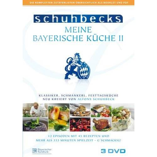 Alfons Schuhbeck - Schuhbeck Meine Bayerische Küche II [3 DVDs] - Preis vom 03.12.2020 05:57:36 h