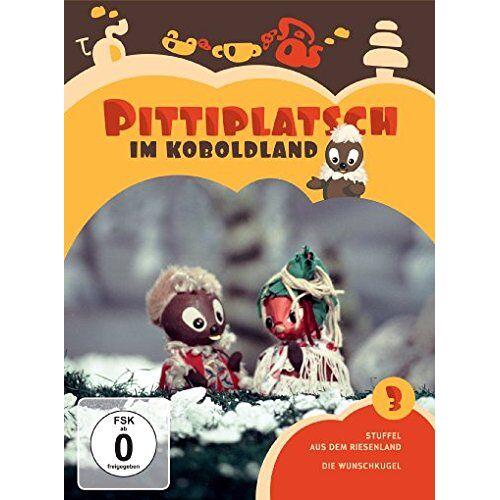 - Pittiplatsch im Koboldland Vol. 3 [2 DVDs] - Preis vom 13.05.2021 04:51:36 h