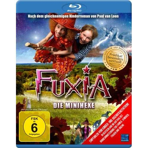 Johan Nijenhuis - Fuxia - Die Minihexe [Blu-ray] - Preis vom 17.04.2021 04:51:59 h
