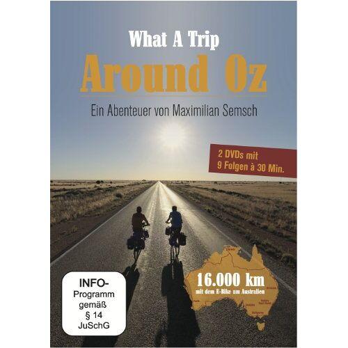 Maximilian Semsch - What a Trip - Around Oz: Ein Abenteuer von Maximilian Semsch [2 DVDs] - Preis vom 04.10.2020 04:46:22 h