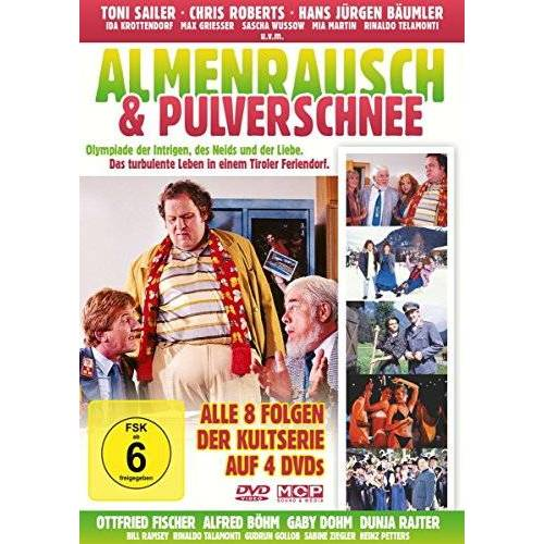 Franz Antel - Almenrausch & Pulverschnee (4 DVDs) - Alle 8 Folge der Kultserie auf 4 DVDs - Preis vom 28.02.2021 06:03:40 h