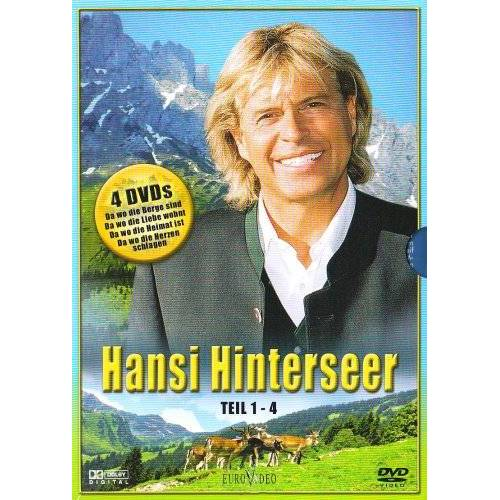 Hansi Hinterseer - Hansi Hinterseer Box, Teil 1-4 (4 DVDs) - Preis vom 20.10.2020 04:55:35 h