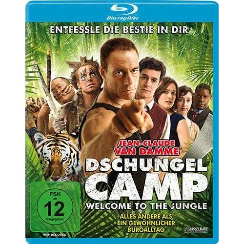 Rob Meltzer - Dschungelcamp - Welcome to the Jungle [Blu-ray] - Preis vom 20.10.2020 04:55:35 h