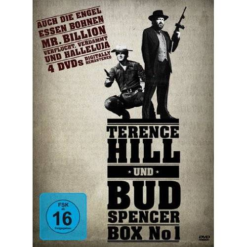 Bud Spencer - Terence Hill & Bud Spencer Box No 1 [4 DVDs] - Preis vom 06.05.2021 04:54:26 h