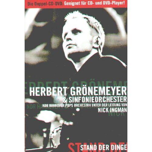 Herbert Grönemeyer - Grönemeyer - Stand der Dinge (DVD plus) - Preis vom 20.10.2020 04:55:35 h