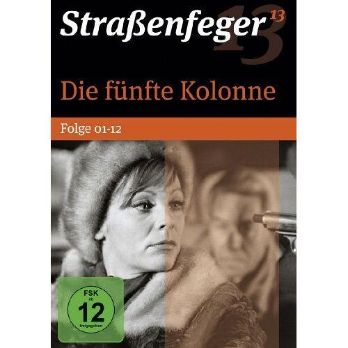 Jürgen Goslar - Strassenfeger 13 - Die fünfte Kolonne, Folge 01-12 (4 DVDs) - Preis vom 18.04.2021 04:52:10 h