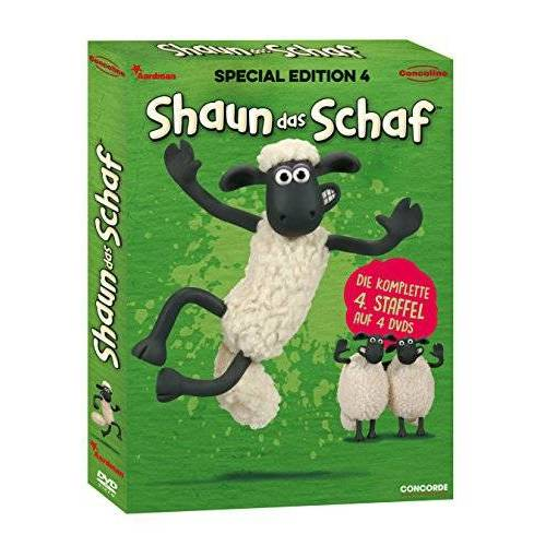 - Shaun das Schaf - Special Edition 4 (Lenticular-Edition) [4 DVDs] - Preis vom 25.01.2021 05:57:21 h