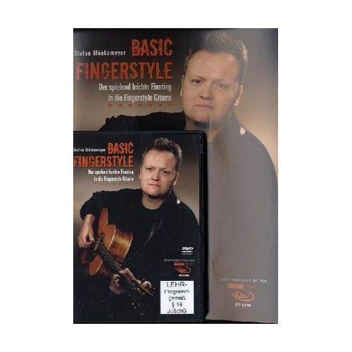Stefan Mönkemeyer - Basic Fingerstyle: Der spielend leichte Einstieg in die Fingerstyle Gitarre, m. DVD - Preis vom 21.10.2020 04:49:09 h